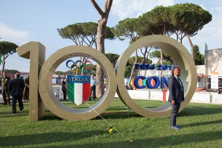 Damiani Sponsors 100th Anniversary Celebrations of CONI