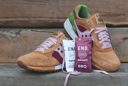 Presenting The END x Saucony Shadow 5000 Burger Trainers