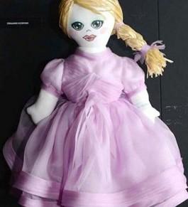 'Wall Of Dolls' Set Up InMilan