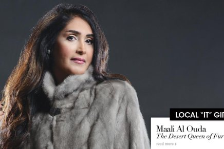 Maali Al Ouda .. The Desert Queen of Fur!