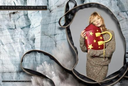 Kate Moss Stars In Stella McCartney's Winter 2014Campaign