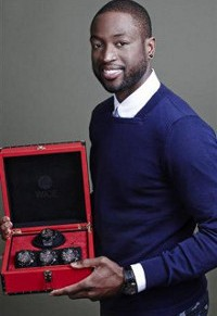 NBA Star Dwayne Wade Designs Hublot Watch