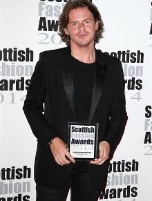 Christopher Kane Wins at Scottish Fashion Awards2014