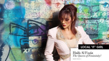 Haifa Al Fuzia: The Queen of Femininity!