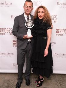 Reem Acra Receives Bridges of UnderstandingAward