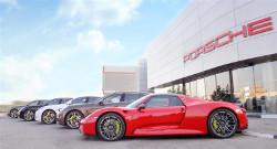 Porsche Kuwait GoesGreen!