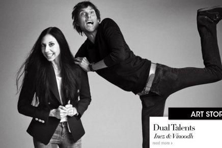 Dual Talents: Inez &Vinoodh
