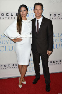 The Red Carpet Power Couple: Matthew McConaughey and Camila Alves