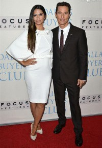 The Red Carpet Power Couple: Matthew McConaughey and CamilaAlves