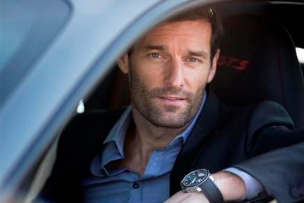 Pilot Mark Webber Chosen as Chopard's NewAmbassador