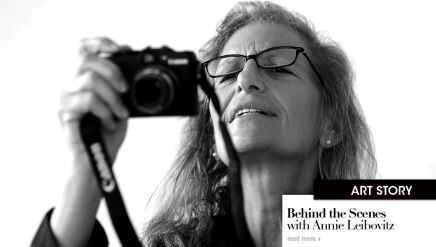 Behind the Scenes with Annie Leibovitz