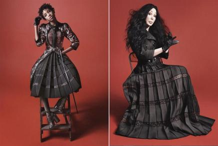 Cher and Willow Smith Star in Marc JacobsCampaign