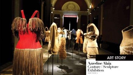 Azzedine Alaïa Couture/Sculpture Exhibition