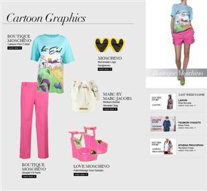 Boutique Moschino: CartoonGraphics