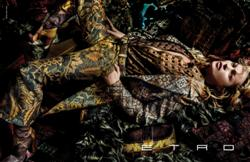Kate Moss Stars in Etro's A/W 2015Campaign