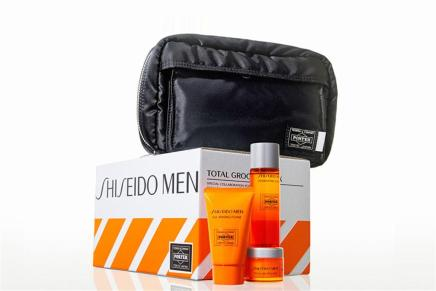 Porter and Shiseido Launch Limited Edition GroomingSet