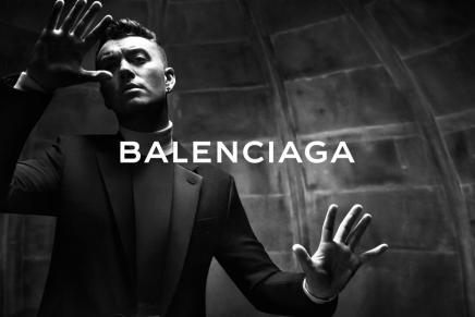 Sam Smith Fronts Balenciaga MenswearCampaign