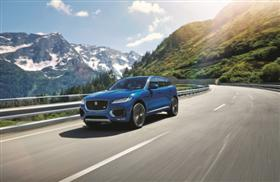 Jaguar Unveils the F-PACE with World RecordLoop