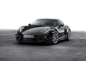 Porsche Cayman GoesBlack!