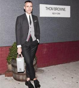 Thom Browne Partners with Woolmark