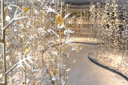 Artist Kris Ruhs Creates Magic forAlaïa