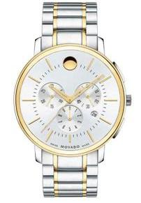 Movado Thin Classic Chronograph – For Him & Her