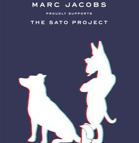 Marc Jacobs Designs for Sato's Dog RescueProject