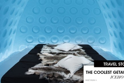 The Coolest Getaway – ICEHOTEL