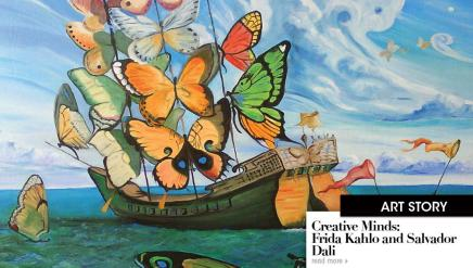 Creative Minds: Frida Kahlo and SalvadorDali
