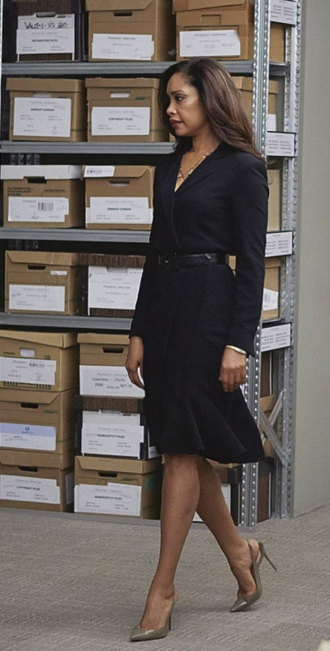 "SUITS -- ""Gone"" Episode 409 -- Pictured: Gina Torres as Jessica Pearson -- (Photo by: Shane Mahood/USA Network/NBCU Photo Bank)"