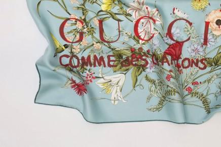 Gucci x Comme des GarçonsScarves