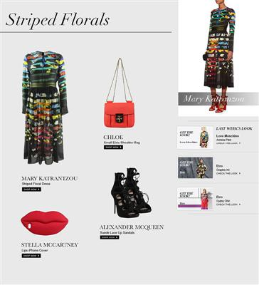 Mary Katrantzou : StripedFlorals