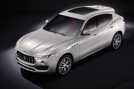 Maserati's First SUV: Levante