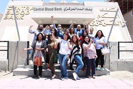 Al Ostoura Organizes Blood Donation Drive – May 14,2016