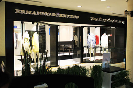 AL OSTOURA Opens Ermanno Scervino Boutique at Thuraya Mall – March2016