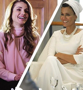 Royal Style Battle – Queen Rania vs. Sheikha Moza