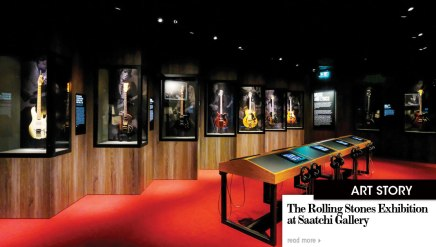 The Rolling Stones Exhibition at Saatchi Gallery