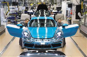 Porsche Announces Production of the 718Cayman