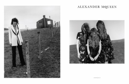 Alexander McQueen Unveils Fall 2016 AdCampaign