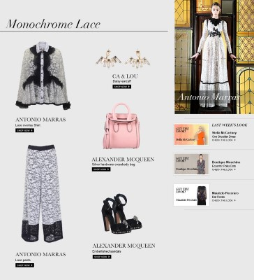 Antonio Marras Monochrome Lace