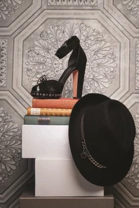 1 -Alexander McQueen Shoes Thuraya Mall 2 - Stella McCartney Hat Thuraya Mall