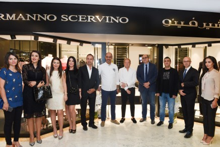 Ermanno Scervino inaugurates the new boutique in Kuwait at Thuraya Mall – Oct. 17, 2016