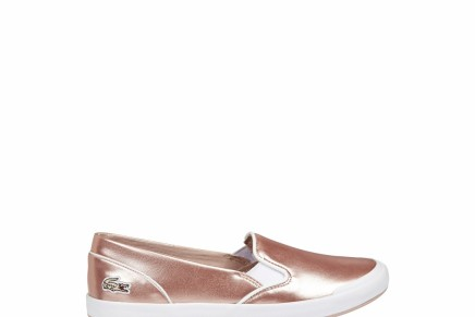 Women's Metallic Slip-On's by Lacoste
