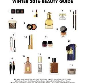Winter 2016 Beauty Guide