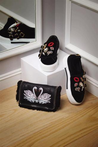 1- Alexander McQueen shoes Thuraya Mall 2 - Stella McCartney bag Thuraya Mall, Al Ostoura Salhiya Complex, Al Ostoura The Avenues