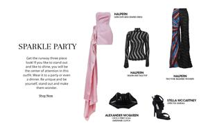 Get the look sparkle party