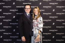 Audemars Piguet Launches New Royal Oak Frosted Gold in Florence