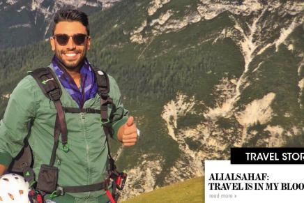 Ali Alsahaf: Travel is in my Blood!