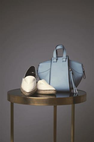 Espadrilles: Lanvin - Thuraya Mall, Al Ostoura The Avenues Mall Bag: Loewe - Al Ostoura Thuraya Mall, Al Ostoura The Avenues