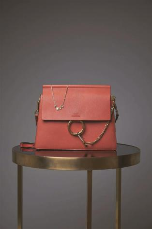 Bag:Chloe - Thuraya Mall, Al Ostoura Salhiya Complex Necklace: Chloe - Thuraya Mall